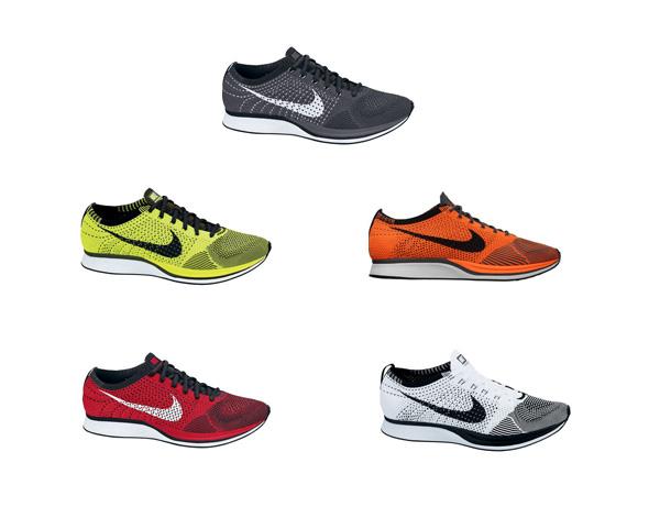 Nike Flyknit Racer Schwarz Weiß